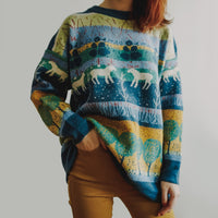 Forest Moose Sweater (2 Colors)