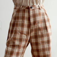 Fall Checkered Plaid Pants (2 Colors)