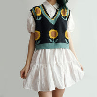 Sunflower Sweater Vest (3 Colors)