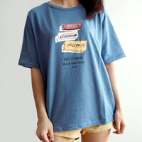 Snacks Graphic Tee (4 Colors)