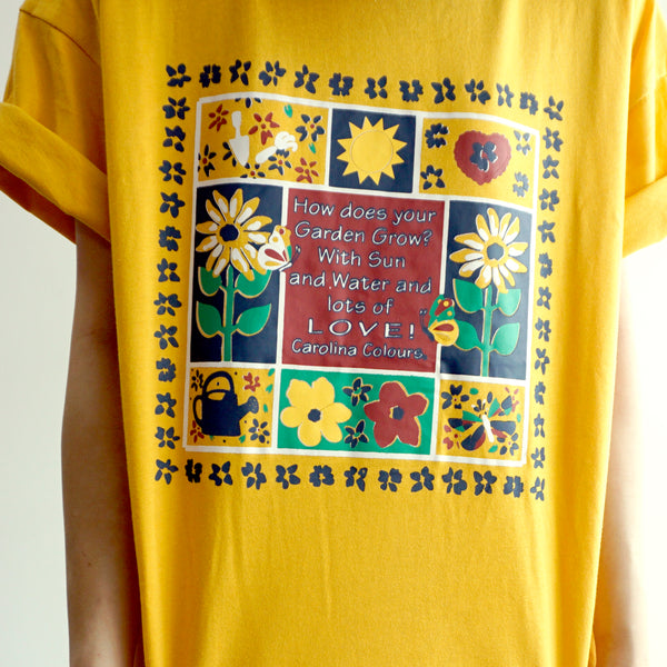 Sunflower Garden Shirt (Yellow)