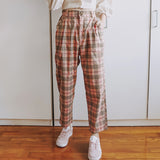 Checkered Plaid Pants (3 Colors)