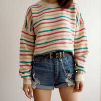 Candy Stripe Sweater (3 Colors)