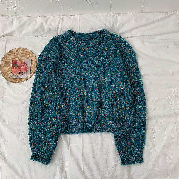 Speckled Sweater (4 Colors)