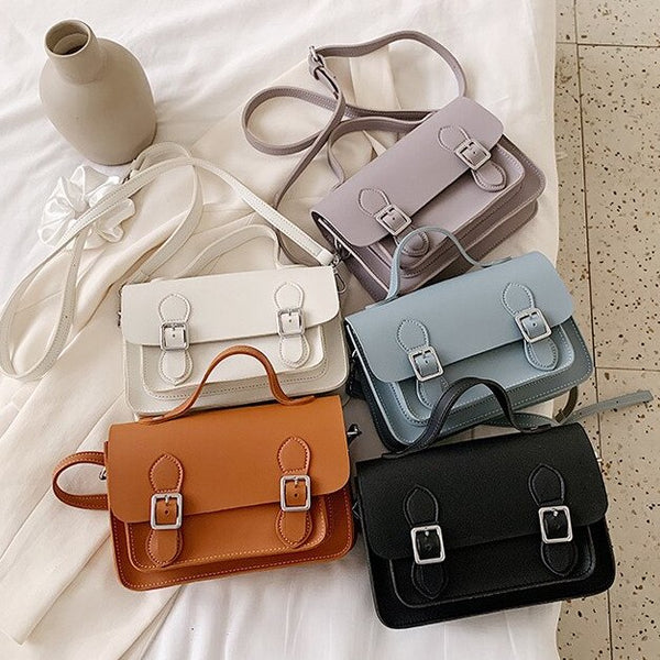 Classic Small Satchel Bag (5 Colors)