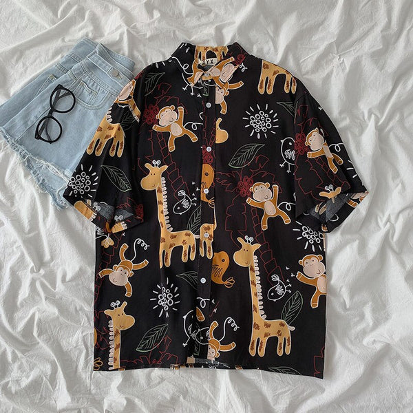 Wildlife Button Up Shirt (2 Colors)