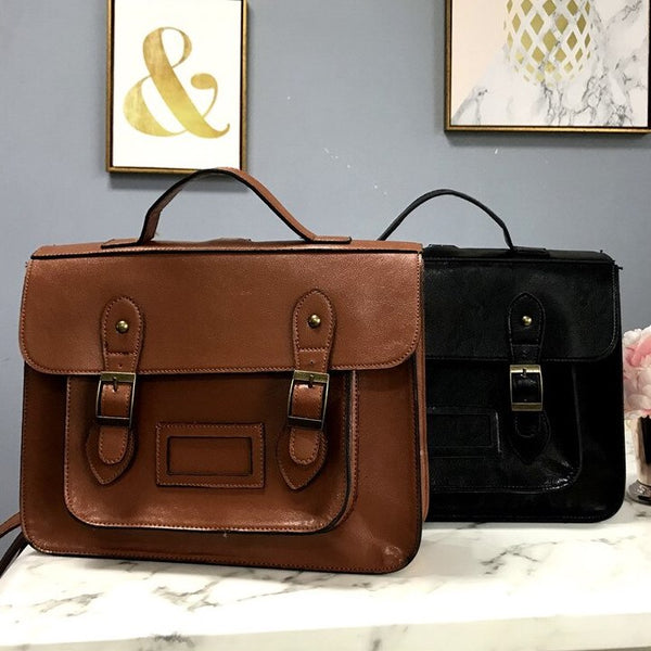 Classic Satchel Bag (2 Colors)