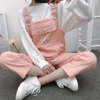 Three Little Geese Overalls (5 Colors)