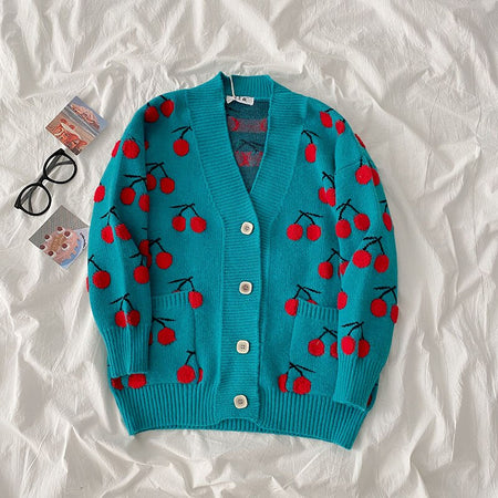Cherry Bomb Cardigan (3 Colors)