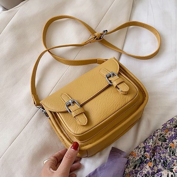Small Satchel Crossbody Bag (4 Colors)