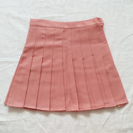 Pleated Tennis Skirt (5 Colors)