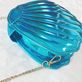 Holographic Mermaid Clamshell Bag (4 Colors)