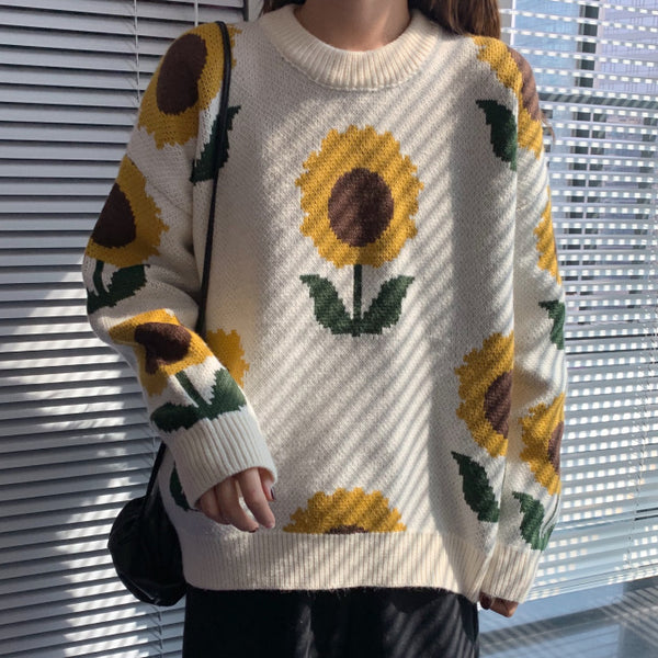 Sunflower Sweater (2 Colors)