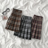 Fall Plaid Tennis Skirt (3 Colors)