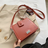 Boxy Book Satchel Bag (4 Colors)