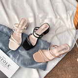 Strappy Slip-On Sandals (3 Colors)