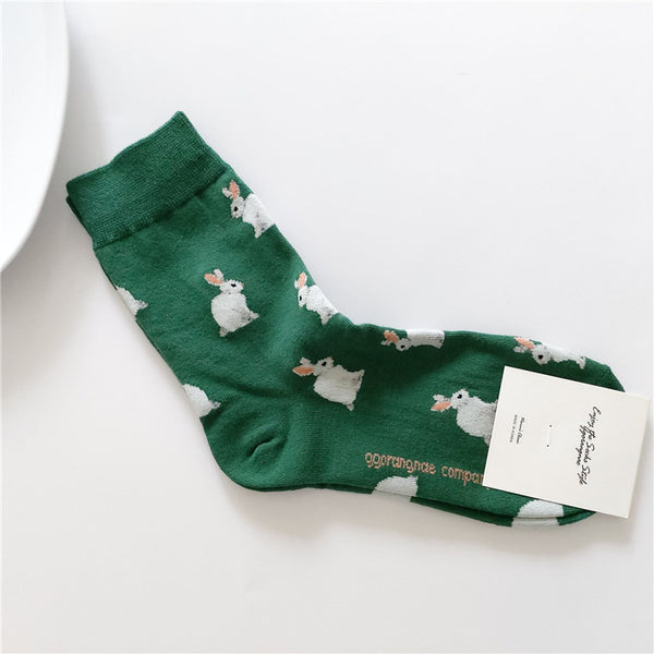 Woodland Critter Socks (2 Colors)
