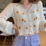 Sunflower Open Knit Cardigan (3 Colors)