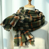 Fall Plaid Scarf (3 Colors)