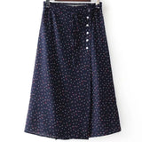 Ditsy Floral Midi Skirt (3 Colors)