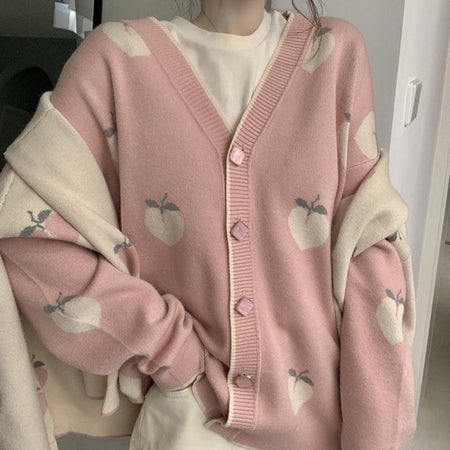 Peach Cardigan (2 Colors)