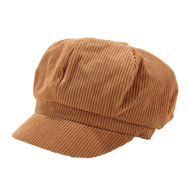 Corduroy Baker Boy Cap (3 Colors)