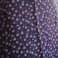 Daisy Midi Skirt (Purple)