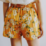 Daisy Shorts (Yellow)