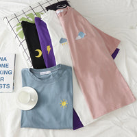 Embroidered Weather Shirt (5 Colors)