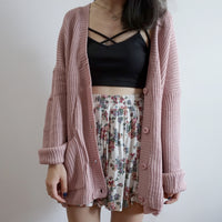 Knitted Cardigan (4 Colors)