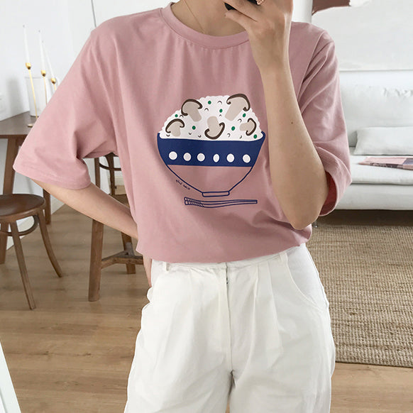 Yummy Food Shirt (5 Colors)