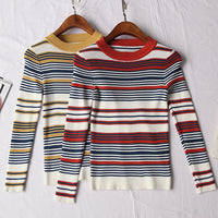 Colorblock Stripe Shirt (2 Colors)