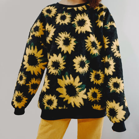 Sunflower Sweater (Black)