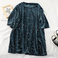 Velvet Constellation Shirt (2 Colors)