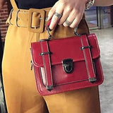 Mini Buckle Crossbody Bag (4 Colors)