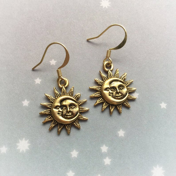 Sun & Moon Earrings (2 Colors)