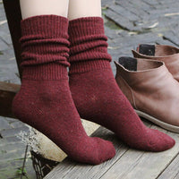 Knitted Socks (10 Colors)