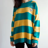 Sports Club Stripe Sweater (2 Colors)
