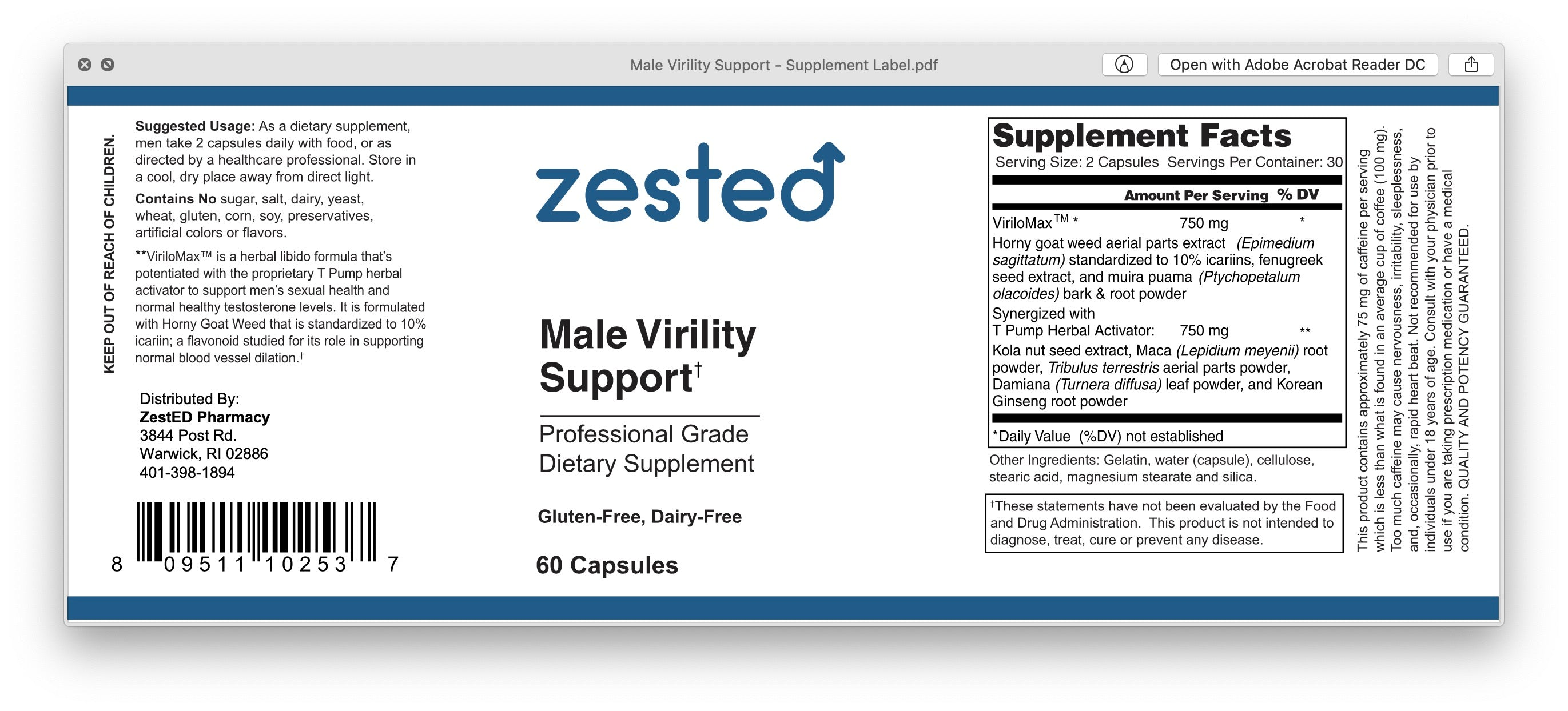 Virility Support