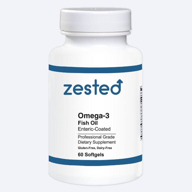 Omega-3 Fish Oil enteric-coated (HP) softgels