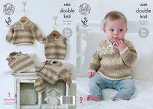 Load image into Gallery viewer, Kingcole Pattern 4488: Sweaters, Slipovers & Hat
