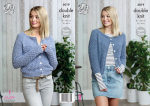 King Cole Pattern 5019: Cardigans