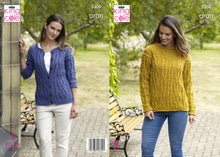 Load image into Gallery viewer, King Cole Pattern 5300: Sweater & Cardigan