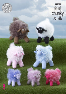 King Cole Pattern 9080: Tinsel Sheep