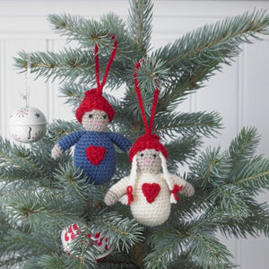 King Cole Christmas Scandinavian Style Crochet Book 1