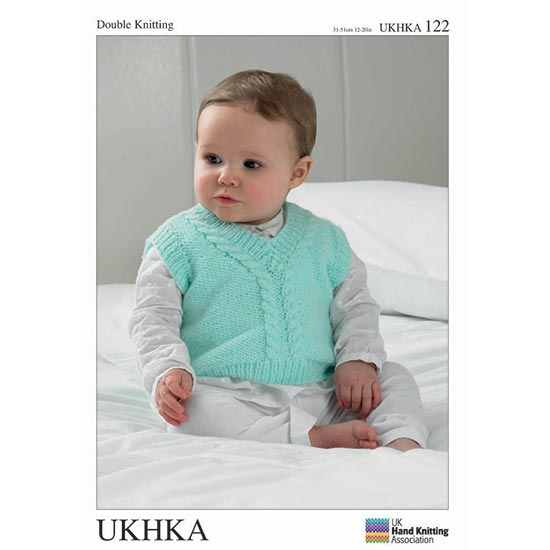 UKHKA Pattern 122: Slipovers, Cardigan and Waistcoat