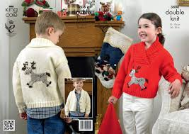 King Cole Pattern Christmas Jumper 3806