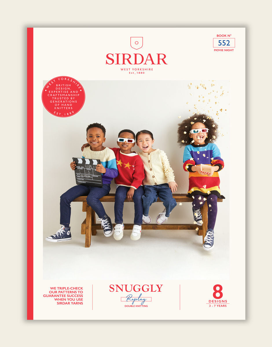 Sirdar Snuggly Replay Movie Night DK