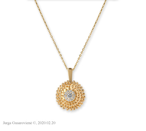 Collier Golden Sun
