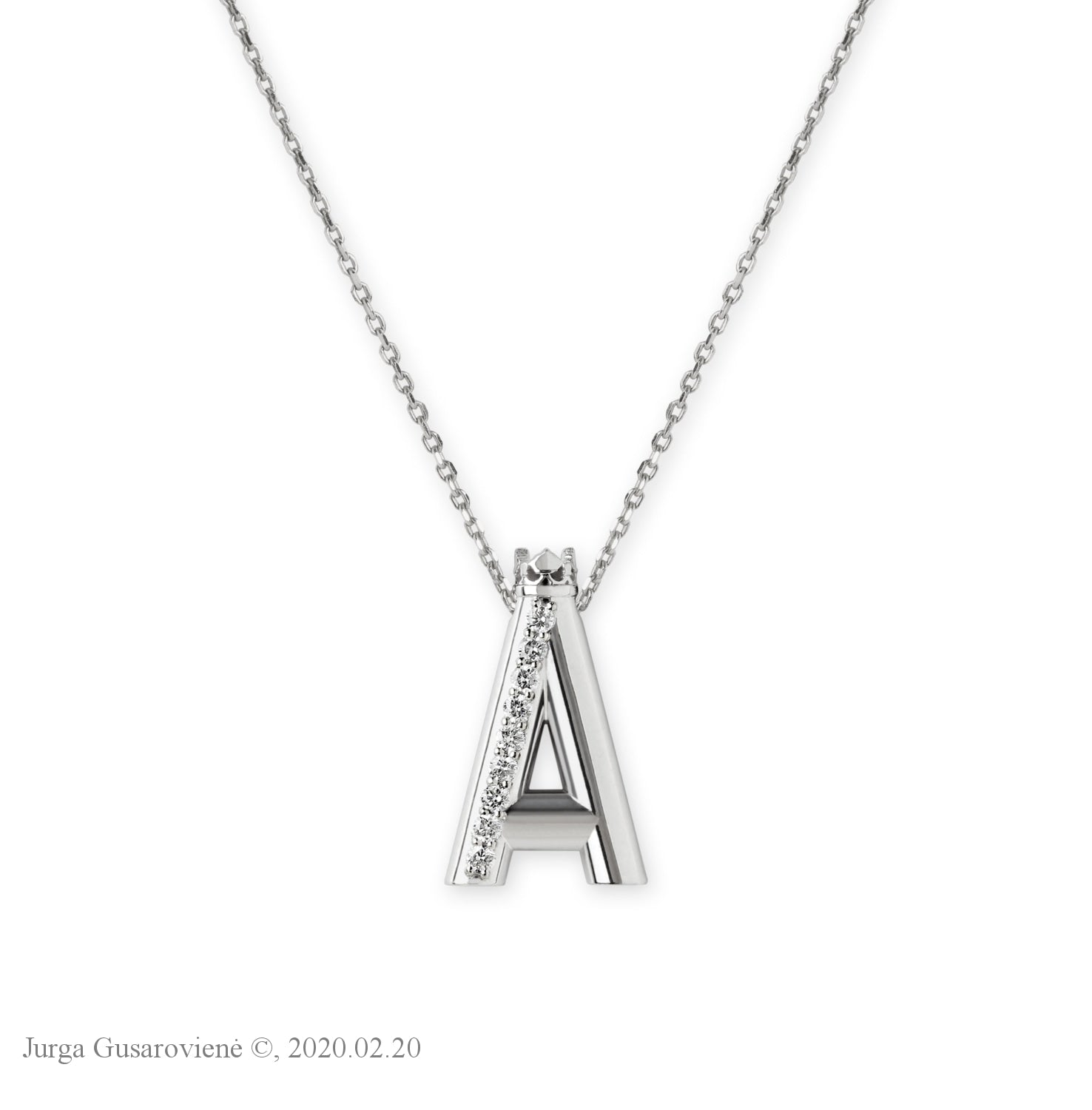 Collier Letter 'A'